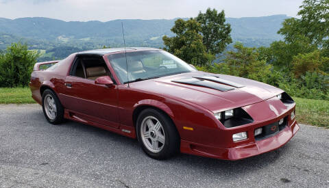 1992 Chevrolet Camaro for sale at Rare Exotic Vehicles in Weaverville NC