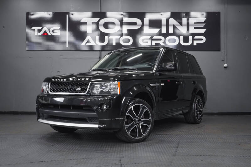 2013 Land Rover Range Rover Sport for sale at TOPLINE AUTO GROUP in Kent WA
