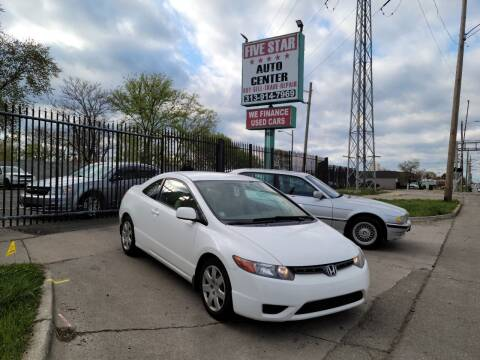 2008 Honda Civic for sale at Five Star Auto Center in Detroit MI