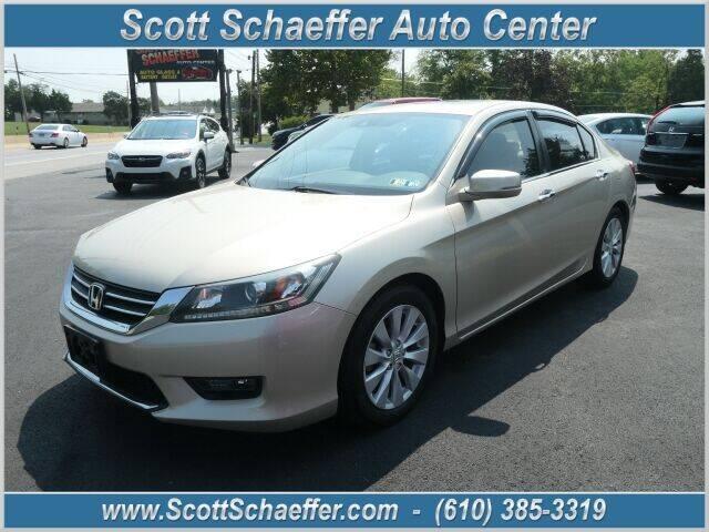 2015 Honda Accord for sale at Scott Schaeffer Auto Center in Birdsboro PA
