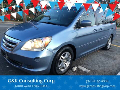 2005 Honda Odyssey for sale at G&K Consulting Corp in Fair Lawn NJ