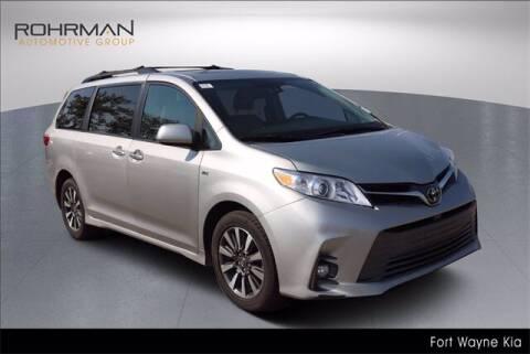 2019 Toyota Sienna for sale at BOB ROHRMAN FORT WAYNE TOYOTA in Fort Wayne IN