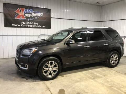 2016 GMC Acadia for sale at Karl Pre-Owned in Glidden IA