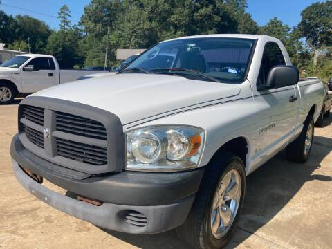 2007 Dodge Ram Pickup 1500 for sale at Peppard Autoplex in Nacogdoches TX