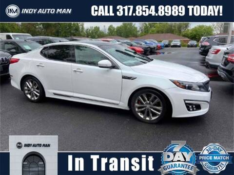 2015 Kia Optima for sale at INDY AUTO MAN in Indianapolis IN