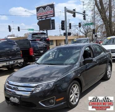 2012 Ford Fusion for sale at Corridor Motors in Cedar Rapids IA