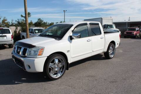 2004 Nissan Titan for sale at Jamrock Auto Sales of Panama City in Panama City FL