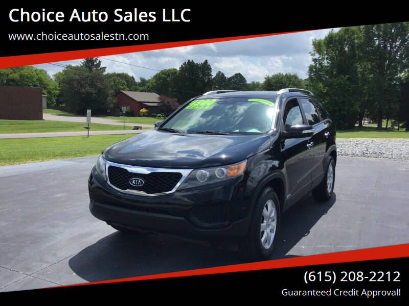 2013 Kia Sorento for sale at Choice Auto Sales LLC - Buy Here Pay Here in White House TN