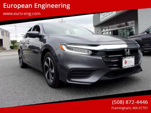 2021 Honda Insight for sale at European Engineering in Framingham MA