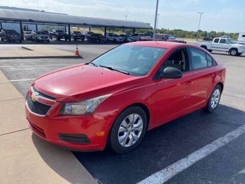 2014 Chevrolet Cruze for sale at Jerry's Buick GMC in Weatherford TX