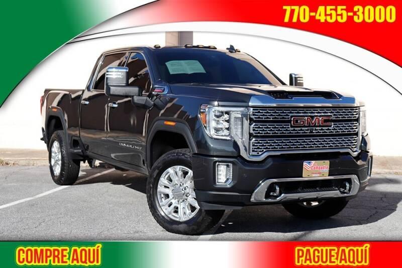 2020 GMC Sierra 2500HD for sale at El Compadre Trucks in Doraville GA
