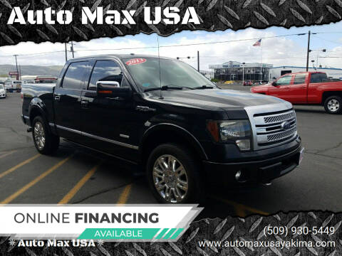 2013 Ford F-150 for sale at Auto Max USA in Yakima WA