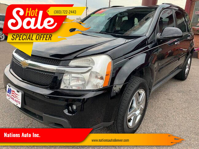 2008 Chevrolet Equinox for sale at Nations Auto Inc. in Denver CO