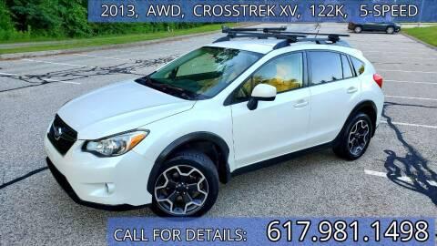 2013 Subaru XV Crosstrek for sale at Wheeler Dealer Inc. in Acton MA