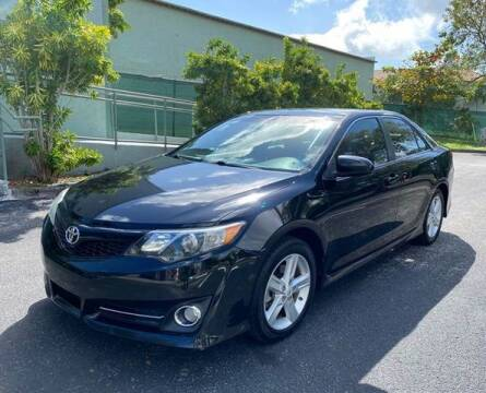 2012 Toyota Camry for sale at Meru Motors in Hollywood FL