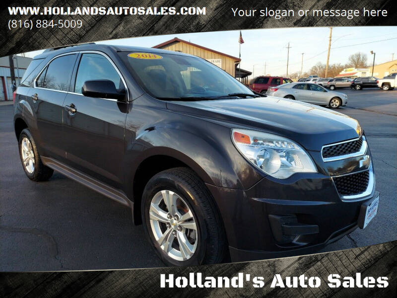 2014 Chevrolet Equinox for sale at Holland's Auto Sales in Harrisonville MO