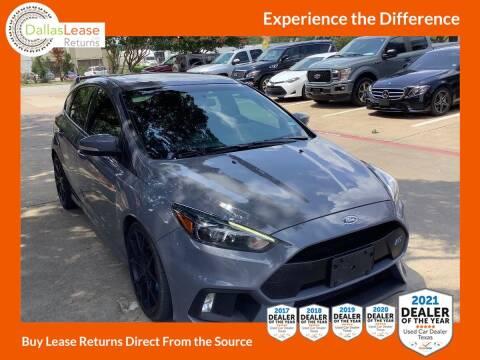 2017 Ford Focus for sale at Dallas Auto Finance in Dallas TX