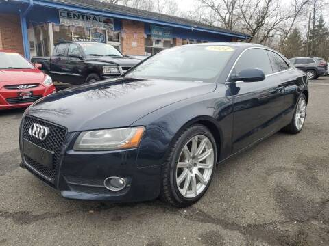 2011 Audi A5 for sale at CENTRAL GROUP in Raritan NJ