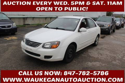 2009 Kia Spectra for sale at Waukegan Auto Auction in Waukegan IL