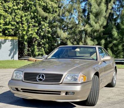 2000 Mercedes-Benz SL-Class for sale at Exclusive Impex Inc in Davie FL