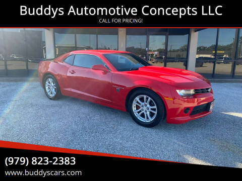 2014 Chevrolet Camaro for sale at Buddys Automotive Concepts LLC in Bryan TX