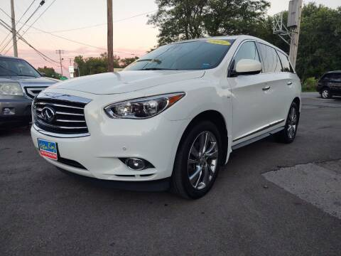 2014 Infiniti QX60 for sale at Peter Kay Auto Sales in Alden NY