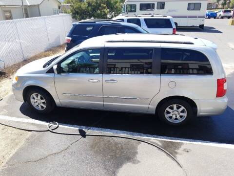 2012 Chrysler Town and Country for sale at Freds Auto Sales LLC in Carson City NV