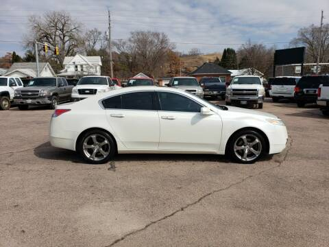 2009 Acura TL for sale at RIVERSIDE AUTO SALES in Sioux City IA
