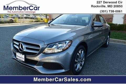 2016 Mercedes-Benz C-Class for sale at MemberCar in Rockville MD