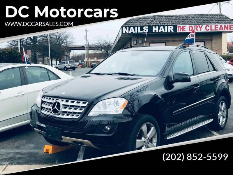 2011 Mercedes-Benz M-Class for sale at DC Motorcars in Springfield VA