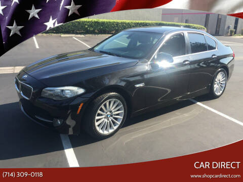 2012 BMW 5 Series for sale at Car Direct in Orange CA
