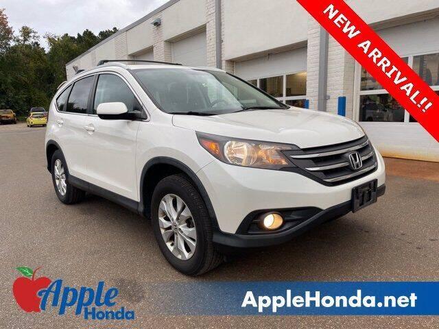2014 Honda CR-V for sale at APPLE HONDA in Riverhead NY