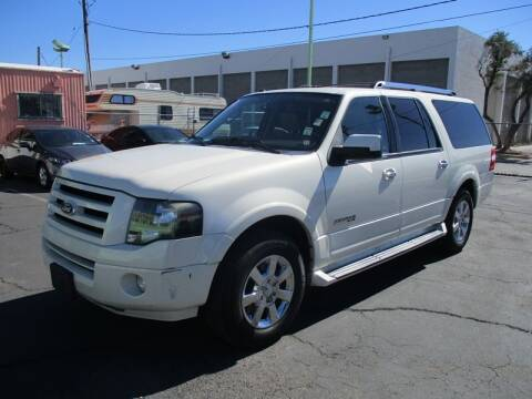 2008 Ford Expedition EL for sale at ALOHA USED CARS in Las Vegas NV