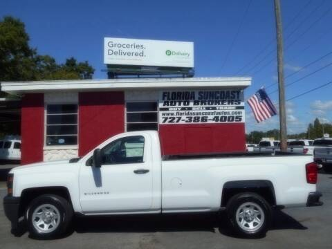 2015 Chevrolet Silverado 1500 for sale at Florida Suncoast Auto Brokers in Palm Harbor FL