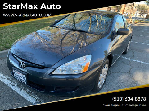 2004 Honda Accord for sale at StarMax Auto in Fremont CA