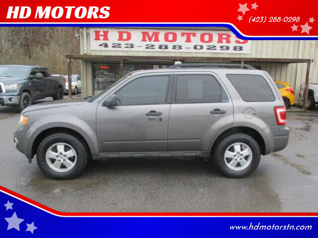 2009 Ford Escape for sale at HD MOTORS in Kingsport TN