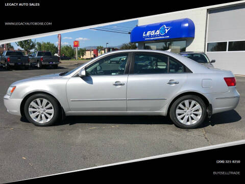 2009 Hyundai Sonata for sale at LEGACY AUTO SALES in Boise ID
