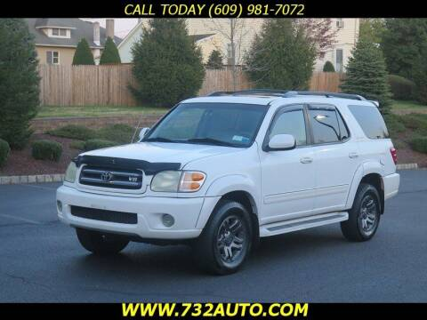 2004 Toyota Sequoia for sale at Absolute Auto Solutions in Hamilton NJ