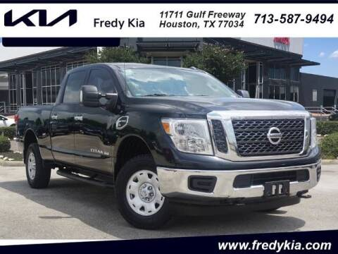 2017 Nissan Titan XD for sale at FREDY KIA USED CARS in Houston TX