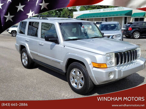 2006 Jeep Commander for sale at Windham Motors in Florence SC