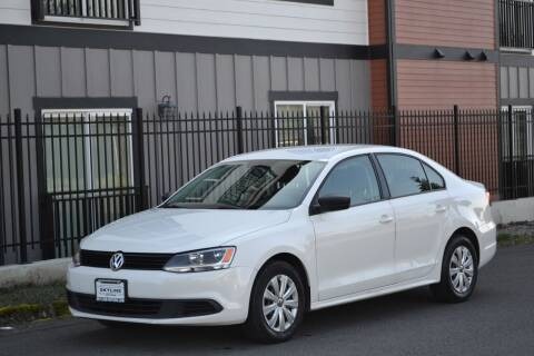 2011 Volkswagen Jetta for sale at Skyline Motors Auto Sales in Tacoma WA