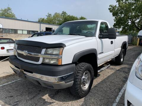 2003 Chevrolet Silverado 2500HD for sale at Queen City Classics in West Chester OH