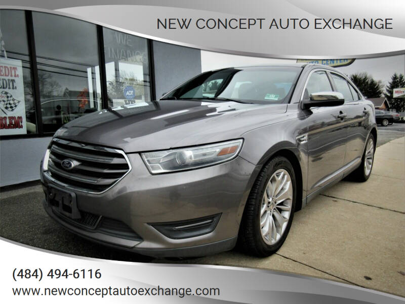 2013 Ford Taurus for sale at New Concept Auto Exchange in Glenolden PA