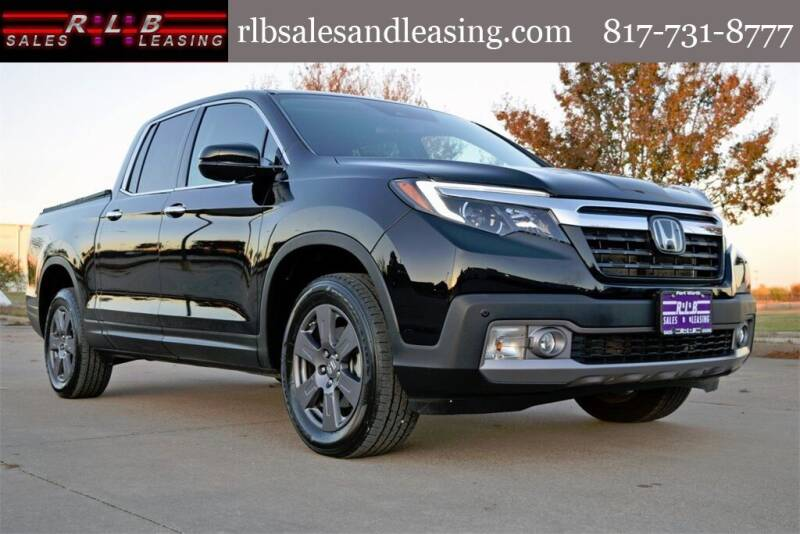 2020 Honda Ridgeline for sale at RLB Sales and Leasing in Fort Worth TX