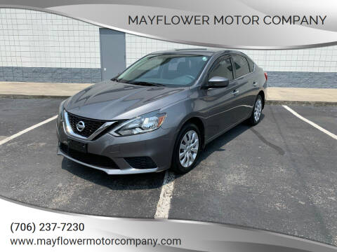 2017 Nissan Sentra for sale at Mayflower Motor Company in Rome GA