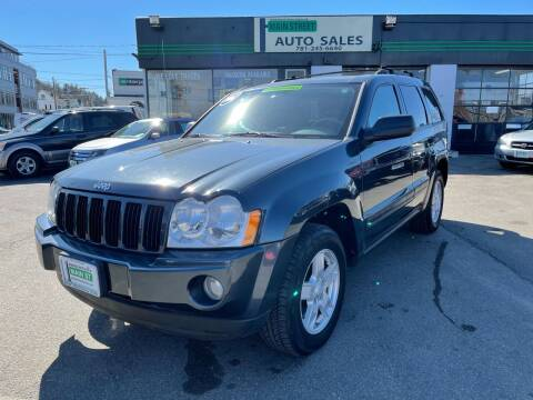 2006 Jeep Grand Cherokee for sale at Wakefield Auto Sales of Main Street Inc. in Wakefield MA