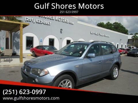 2004 BMW X3 for sale at Gulf Shores Motors in Gulf Shores AL