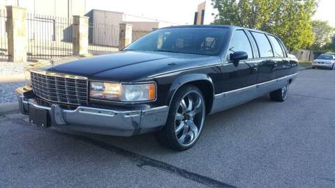 1994 Cadillac Fleetwood for sale at ZNM Motors in Irving TX