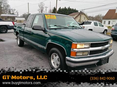 1998 Chevrolet C/K 1500 Series for sale at GT Motors, LLC in Elkin NC