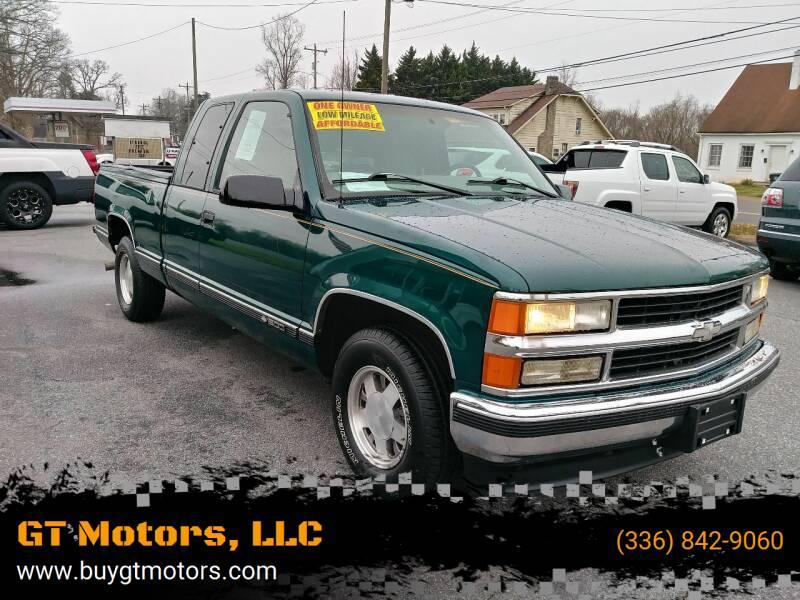 1998 Chevrolet C/K 1500 Series for sale at GT Motors, LLC in Elkin NC